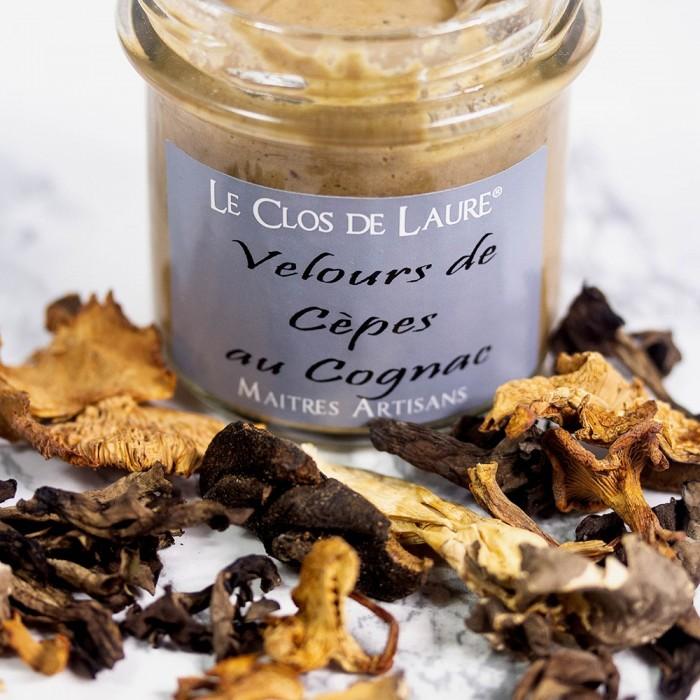 Velours de cèpes au cognac coffret cadeau