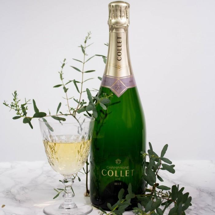 Champagne Collet brut cadeau d'affaire