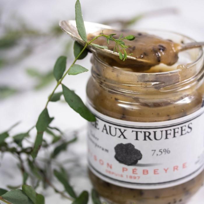 Sauce aux truffes 7,5% coffret epicerie fine