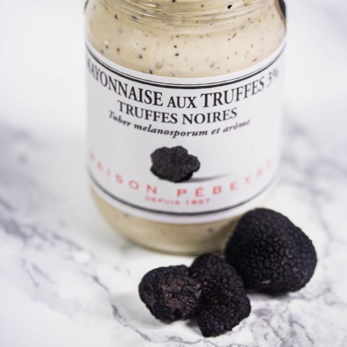 Mayonnaise aux truffes noires 3% Cadeau epicerie fine