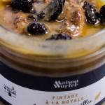 Pintade à la royale foie gras et morilles coffret gastronomique