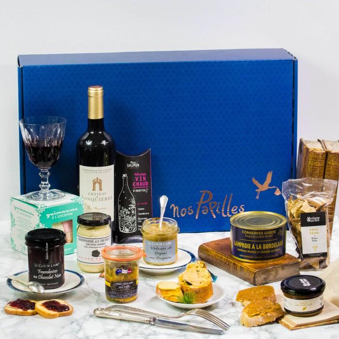 Coffret gourmand Escapade cocorico Cadeau d'entreprise
