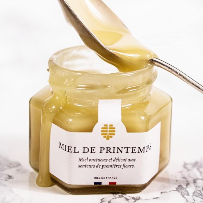 Miel de printemps panier gourmand